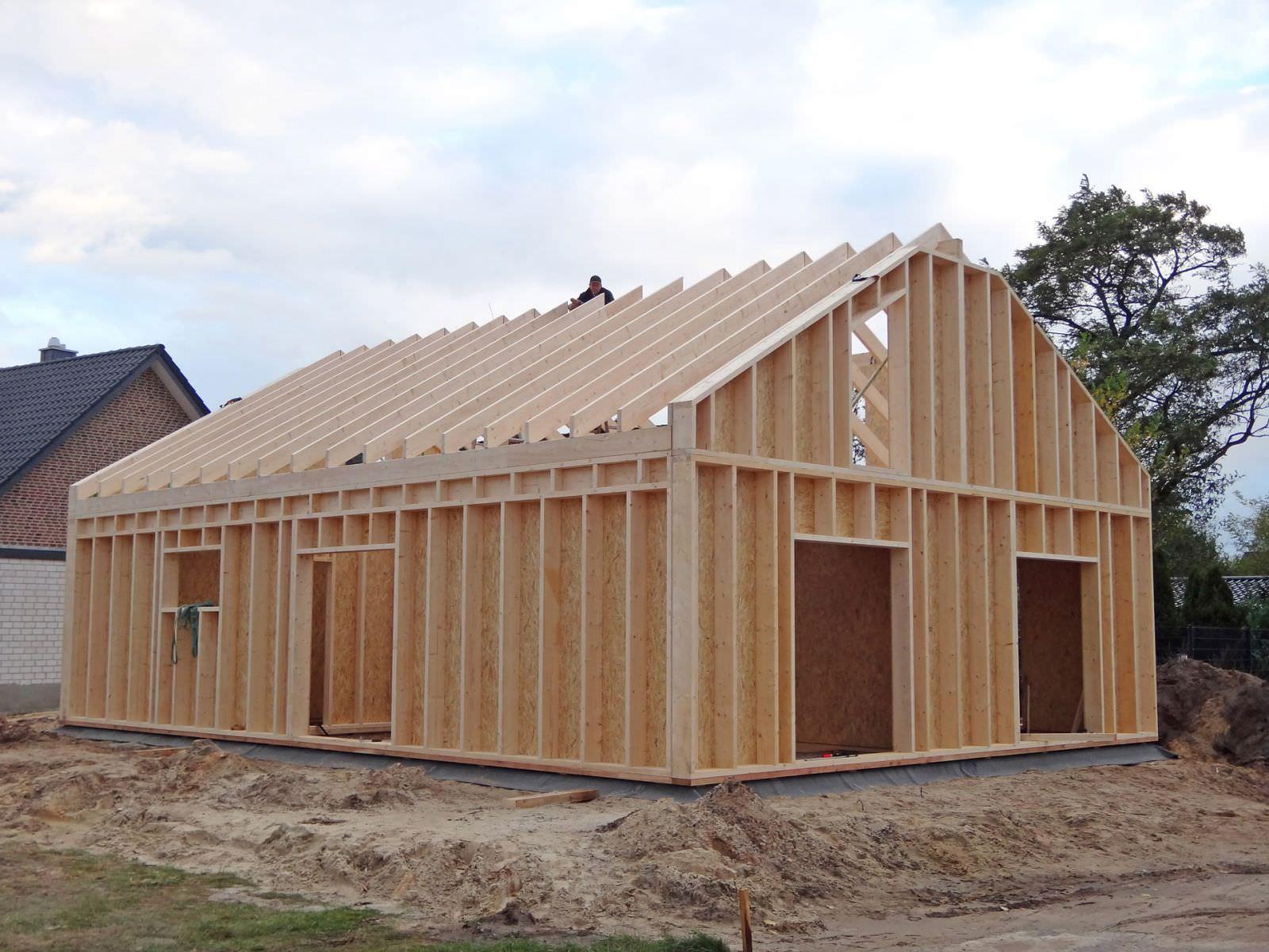 Wohnhaus als Holzrahmenbau Rietberg - Zimmerei Jan Reckmann